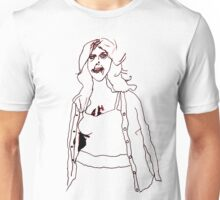 Knitted Lady #2 Unisex T-Shirt