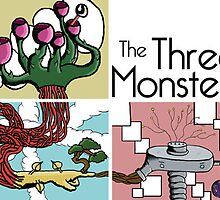 The Three Monsters by bharmondesign