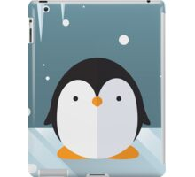 Penguin in the Snow iPad Case/Skin