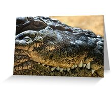 Cold Blooded Predator Greeting Card