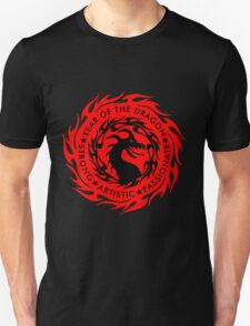 Chinese Zodiac Year of The Dragon Graphic Design Unisex T-Shirt