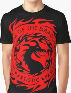 Chinese Zodiac Year of The Dragon Graphic Design Graphic T-Shirt