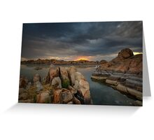 Dells Sunrise Greeting Card