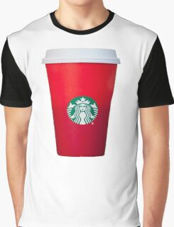 Starbucks Red Cup Graphic T-Shirt
