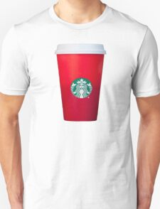 Starbucks Red Cup Unisex T-Shirt