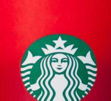 Starbucks Red Cup Sticker