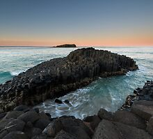 """The Giant's Causeway"" ∞ Fingal Head, NSW - Australia by Jason Asher"