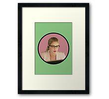 Felicity Smoak - Tech Wiz Framed Print