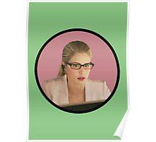 Felicity Smoak - Tech Wiz Poster