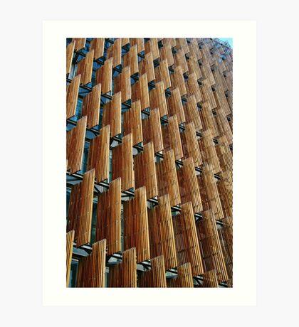 Melbourne Building Facade Art Print