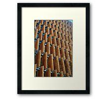 Melbourne Building Facade Framed Print