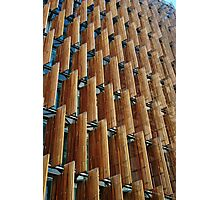 Melbourne Building Facade Photographic Print