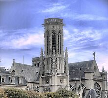 Saint-Germain l'Auxerrois ( 1 ) by Larry Lingard-Davis