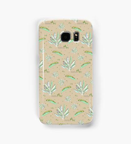Kalanchoe Daigremontiana Pattern Samsung Galaxy Case/Skin