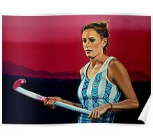 Luciana Aymar Painting Poster