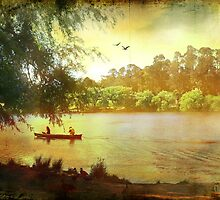 "Evening by the Lake, from the book, ""Daylesford Days"", by Chris Armytage by ArmytageArts"