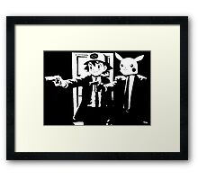 Pulp fiction - pokemon Framed Print