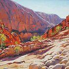 Orminston Gorge - Alice Springs, Central Australia by Graham Gercken