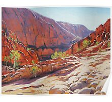 Orminston Gorge - Alice Springs, Central Australia Poster