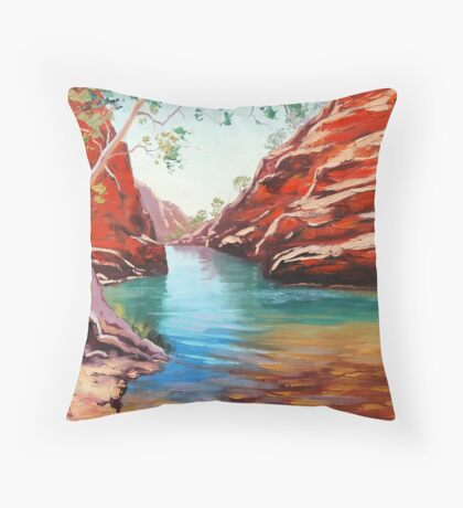 Outback Ghost Gum Throw Pillow