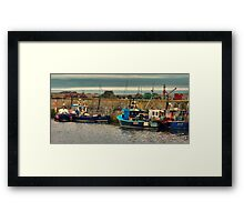 The Harbour Seahouses Framed Print