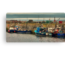 The Harbour Seahouses Canvas Print