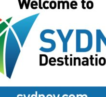 Welcome to Sydney Destination NSW Road Sign, Australia Sticker