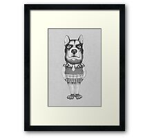 DOG. Chief. Framed Print