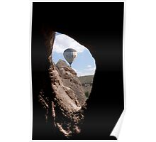 balloon from a cave Poster