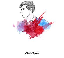 Lord Byron by Paradoxthis