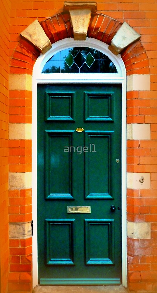 Green Door by ©The Creative  Minds