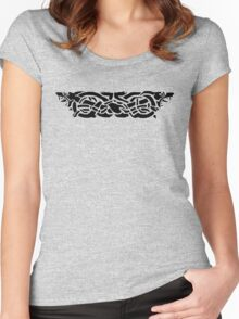 Celtic Wolf Hounds  Women's Fitted Scoop T-Shirt