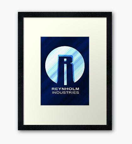 Reynholm Industries (dark apparel) Framed Print