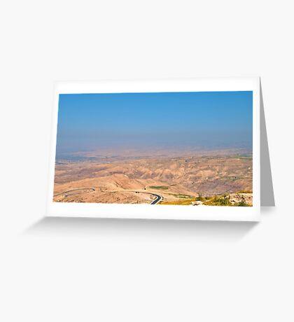 Jordan Valley Greeting Card