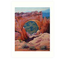 Desert Arch Landscape Art Print
