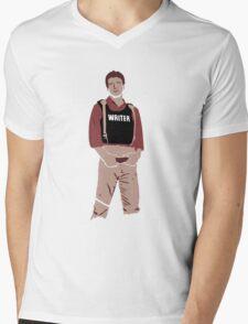 Captain Castle Mens V-Neck T-Shirt