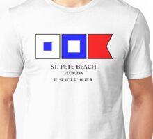 St Pete Beach Nautical Flag Saint Petersburg Unisex T-Shirt