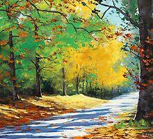 Autumn Road by Graham Gercken