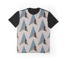 all the way down and into the blue Graphic T-Shirt