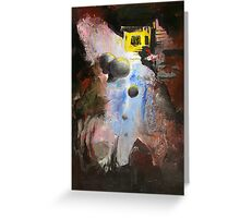 Untitled Abstract 629-12 Greeting Card