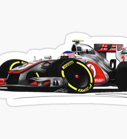 F1 2012 - McLaren MP4-27 - Jenson Button Sticker