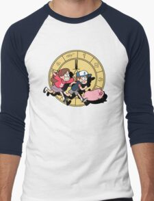 The Adventures of the Mystery Twins Men's Baseball ¾ T-Shirt