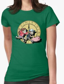 The Adventures of the Mystery Twins Womens Fitted T-Shirt