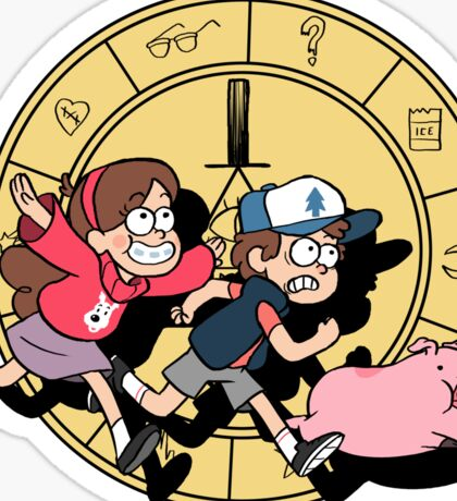 The Adventures of the Mystery Twins Sticker