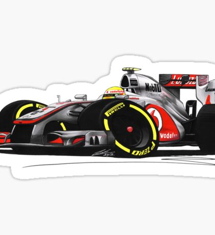 F1 2012 - McLaren MP4-27 - Lewis Hamilton Sticker