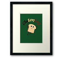 GlutenTag Framed Print