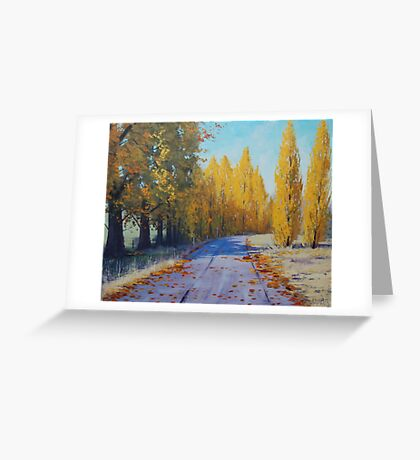 Road To Tarana Greeting Card