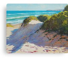 Beach Dunes Painting Canvas Print