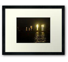 Honolulu Beacons Framed Print
