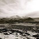 Skiddaw (winter) by Lou Wilson